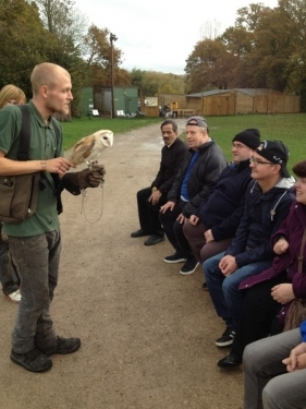 A visit to the birds of prey experience centre.