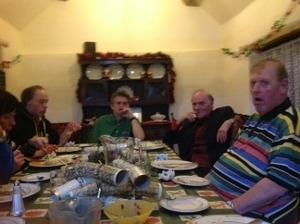 Everyone ready for Christmas dinner!