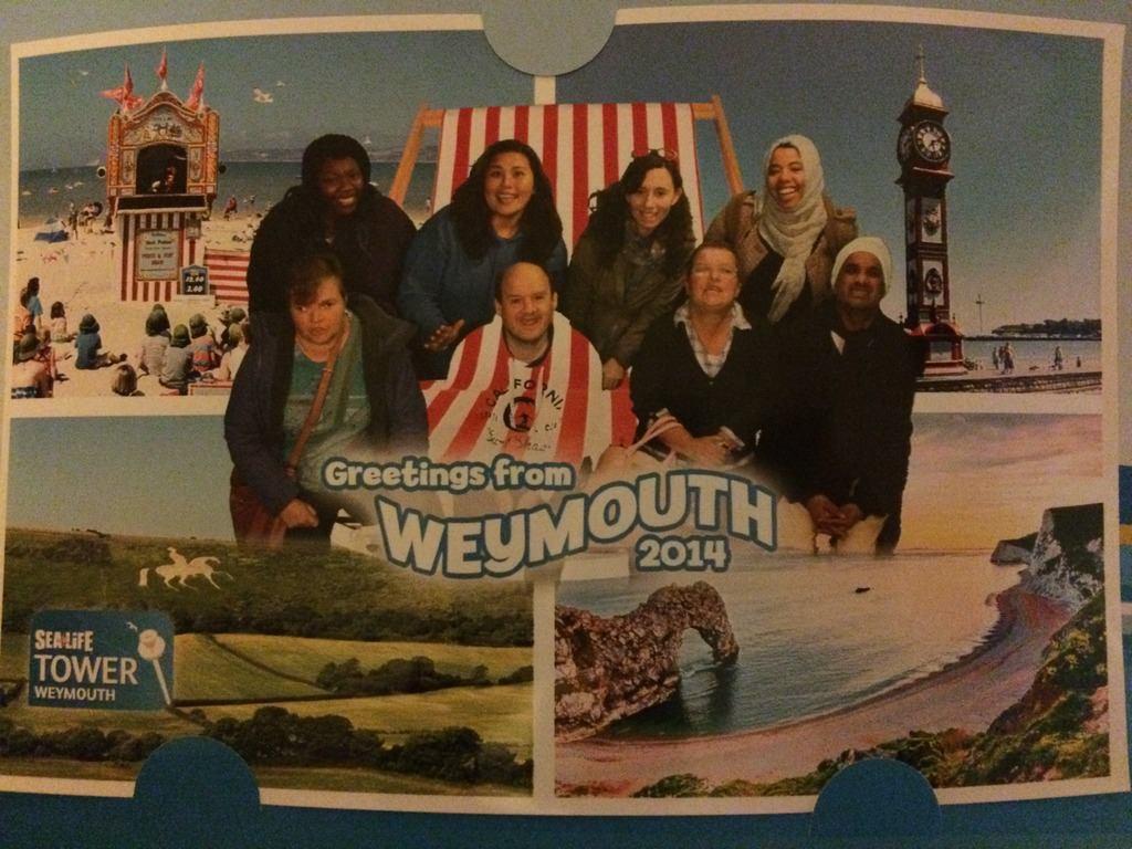 Greetings from Weymouth!