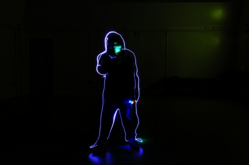 After 5 'super' sessions the group learnt yet abother skill, celebrating their incredible work with Suzy Prior and light photography. This sensory session was particularly engaging for our group and was an exciting workshop young people of all needs and abilities could fully engage in.