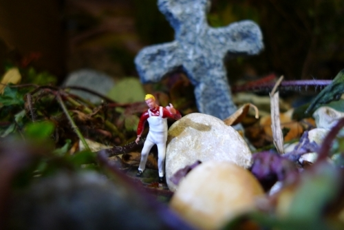 Young people created, lit and photographed these amazing miniature scenes.