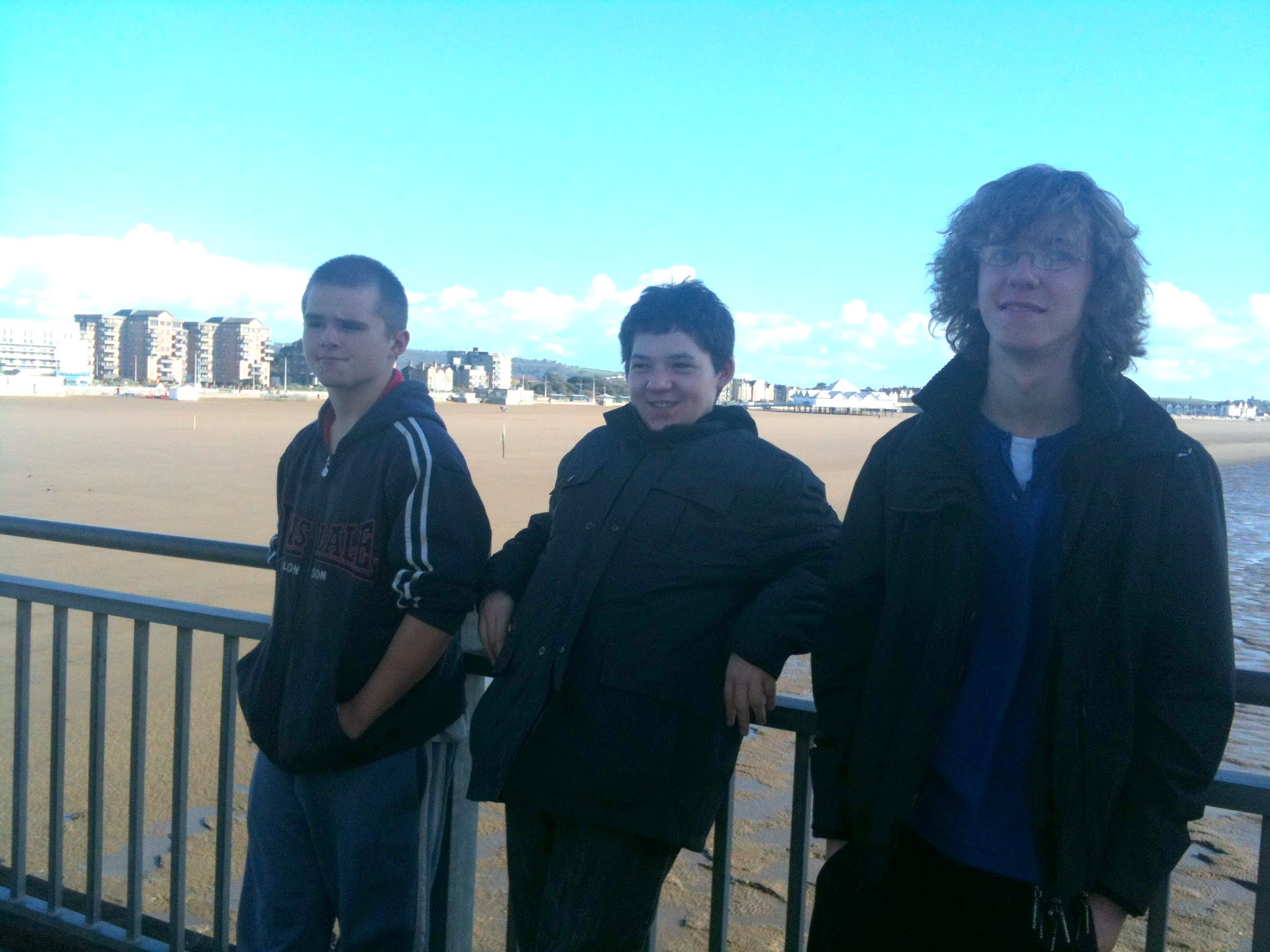 After spending up, we walked back down the pier, avoiding the seagulls!